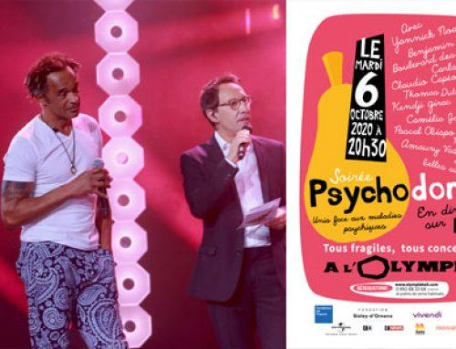 6 octobre, Psychodon: santé mentale à l'honneur à l'Olympia