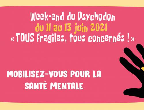 #Psychodon2021, le grand show de la santé mentale